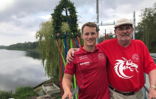 Richtfest am Ufer des Osendorfer Sees