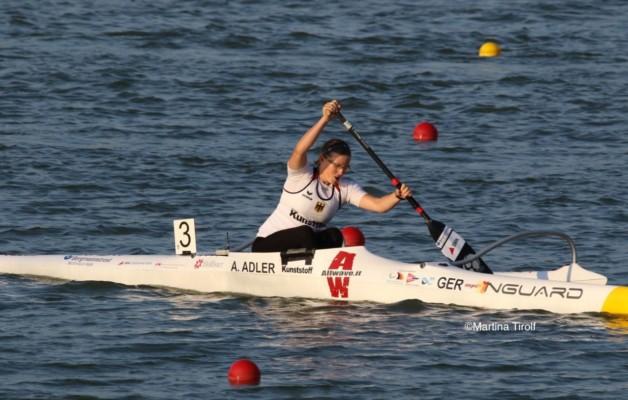 Silber für Peter Happ bei der Para Kanu WM