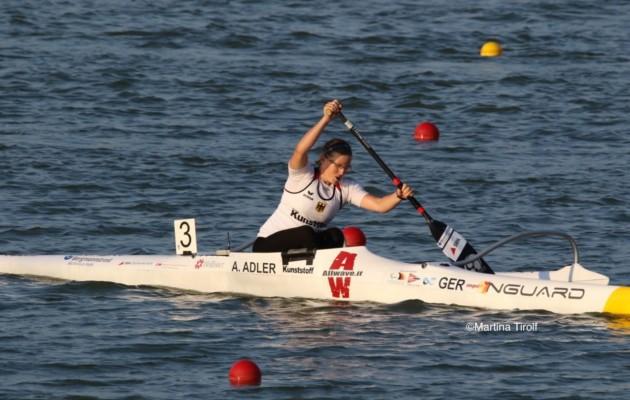 Ein starker 8.Platz im A-Finale der Kl 2 für Anja Adler!