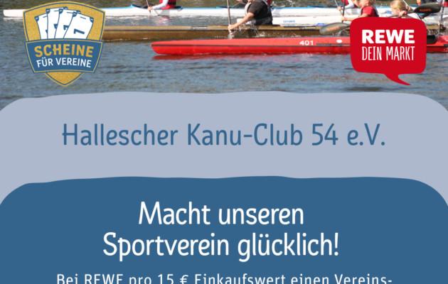 Aktion: Scheine für Vereine- helft mit!