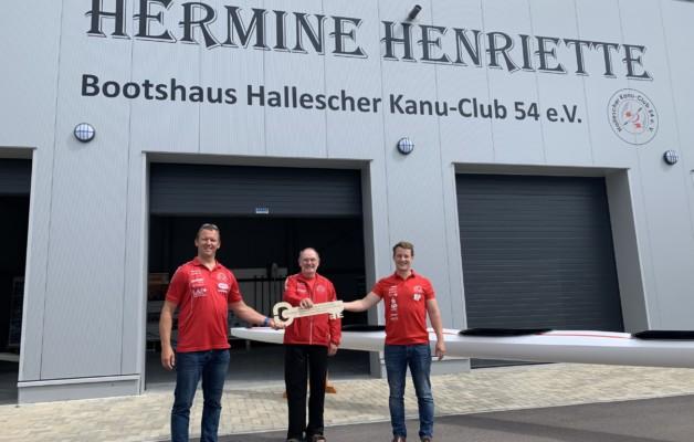 Sportgelände wird an den Halleschen Kanu-Club übergeben