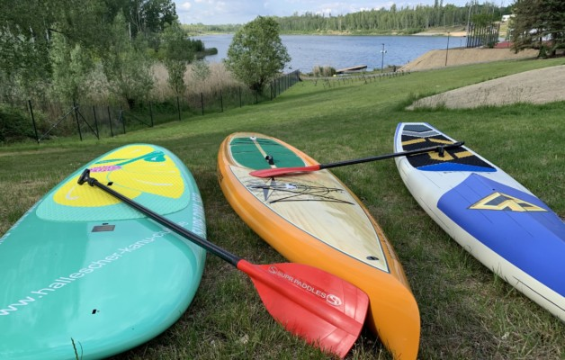 SUP – Stand Up Paddling am Osendorfer See