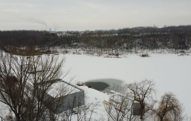 Winter am Osendorfer See