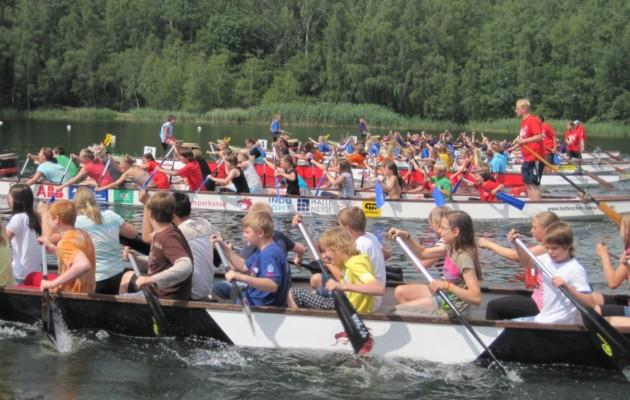 19.-20.07.2021Sparkassencup der Schulen im Drachenboot – Osendorfer See/Halle