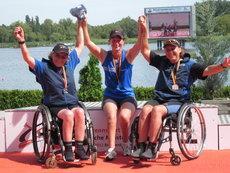 Gewinner der Deutsche Meisterschafften im Paracanoe 2012
