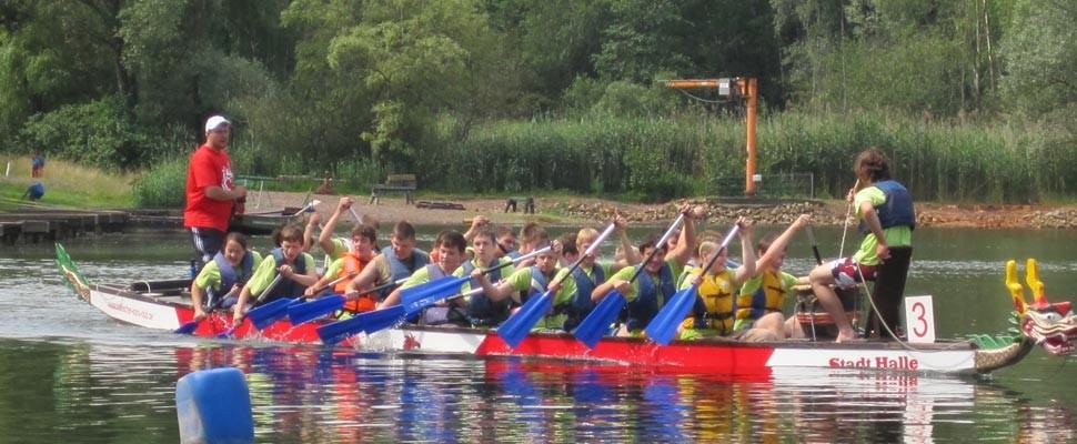 Schüler Drachenboot