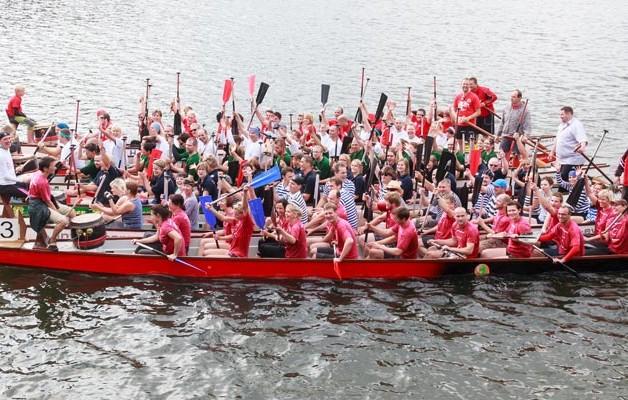 Gesucht wird das stärkste Medizinerteam Mitteldeutschlands – 5. Medicup im Drachenbootsport, und das stärkste Vereins- und Firmenteam beim 15. Halleschen Drachenbootrennen