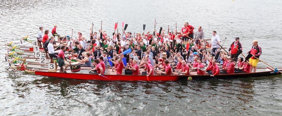Wassersporttage Drachenboote